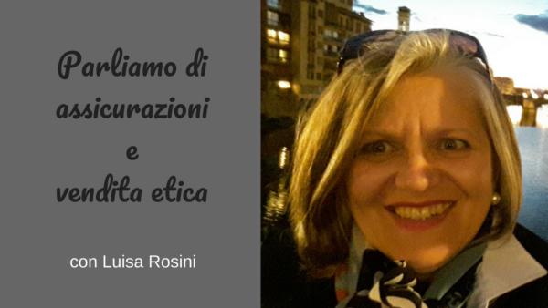 Parliamo di assicurazioni Intervista con Luisa Rosini sul Podcast Regine di Denari