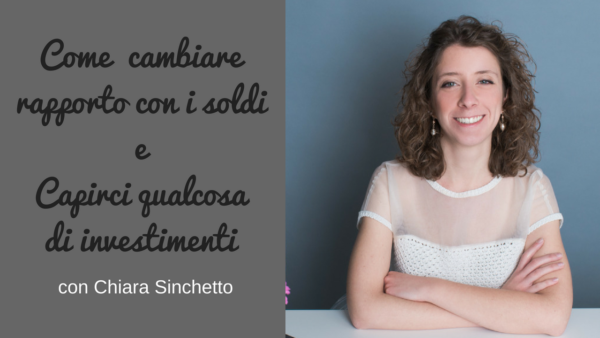 intervista a Chiara Sinchetto sul podcast Regine di Denari