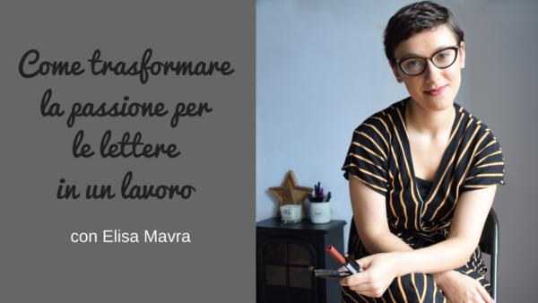 Intervista a Elisa Mavra sul podcast Regine di Denari
