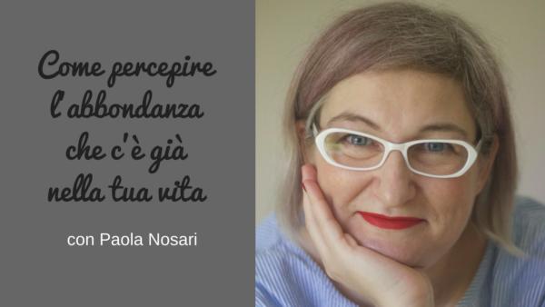 Intervista a Paola Nosari sul podcast Regine di Denari