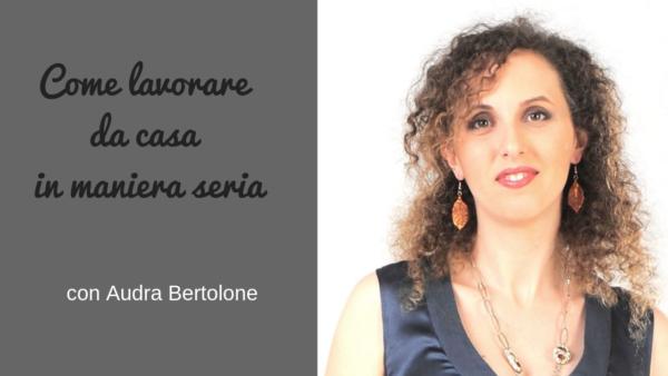 intervista a Audra Bertolone sul podcast Regine di Denari