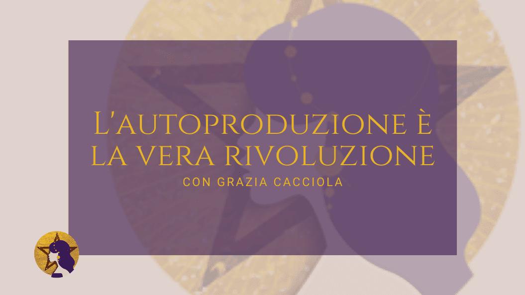intervista a Grazia Cacciola sul podcast Regine di Denari